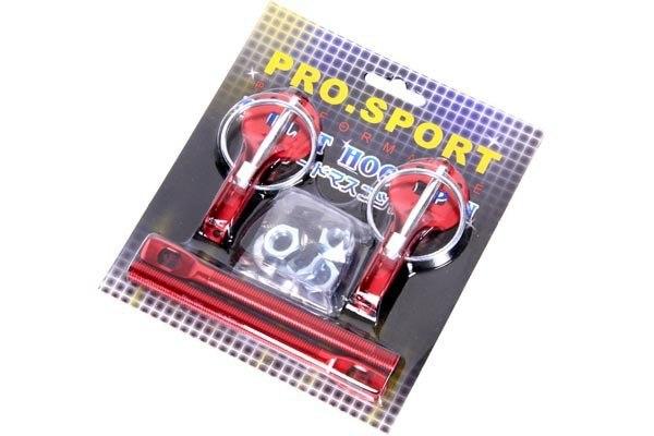 Zapinki maski PRO Red - GRUBYGARAGE - Sklep Tuningowy